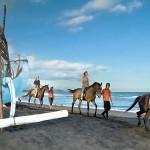 東部サバビーチ de ホースライド